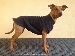 Equafleece Fleece Dog Tankie - Black 14