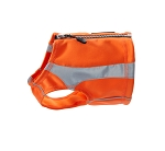 Hurtta High Visibility Polar Vest - Orange and Yellow