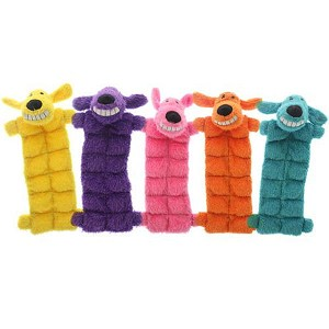 Loofa Squeaker Mat Dog Toy