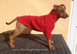 "Equafleece Fleece Dog Jumper - Sizes 14"" and 22"""