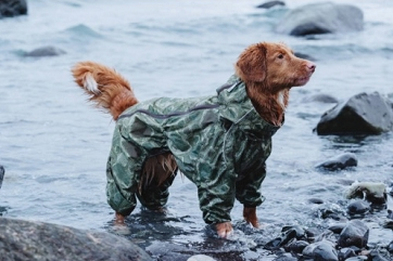 Hurtta Downpour suit - Green Camo