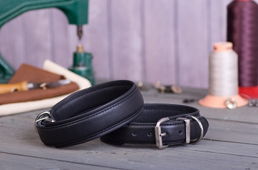 Classic Soft Leather Dog Collar