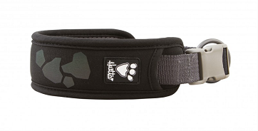 "Hurtta Weekend Warrior Dog Collar - Raven, Size 22""-26"""