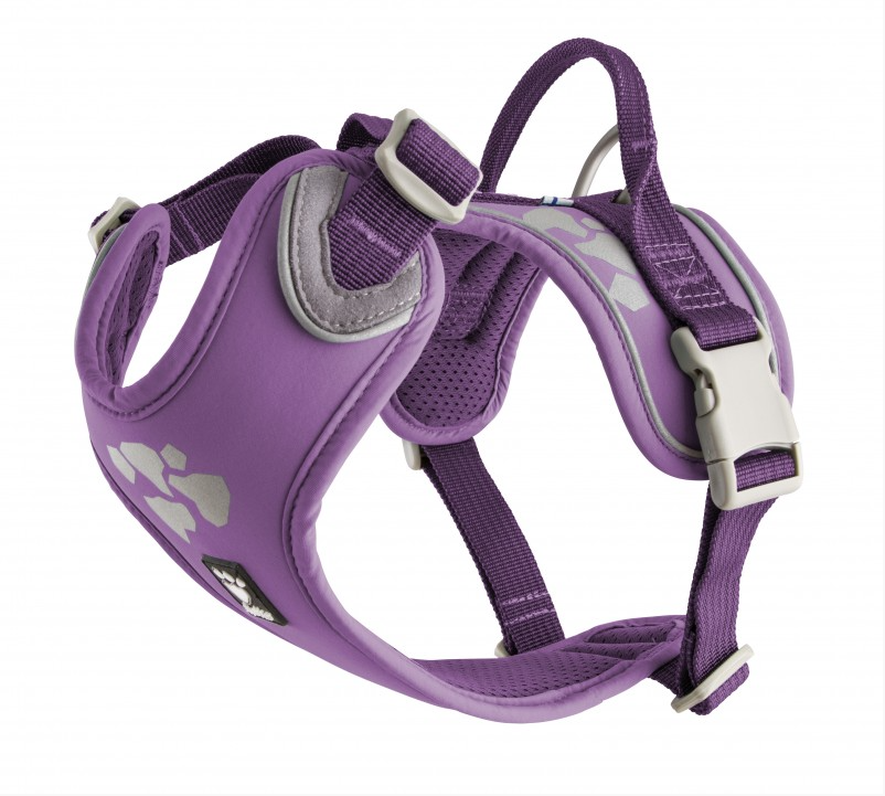 "Hurtta Weekend Warrior Harness - Currant Size 16""-18"""