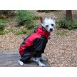 Coco staying warm while camping wearing the Dakota Snow Suit size 14L
