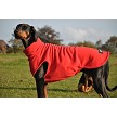 Warm Fleece Tankie for dogs in red