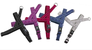 The Casual Padded Harness comes in 5 colors